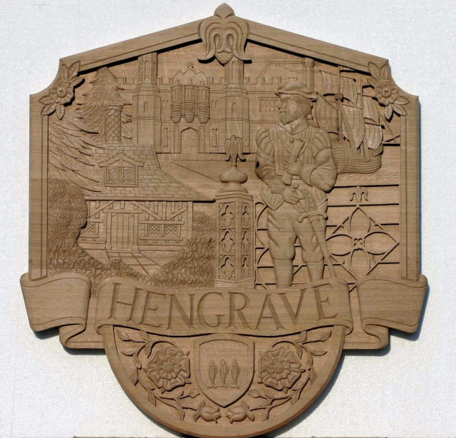 Hengrave Village Sign