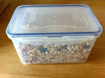 Storing your muesli mix