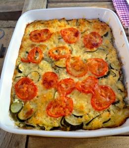 Courgette & Emmental Bake