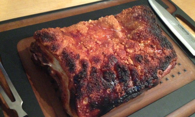 Chinese roast belly pork