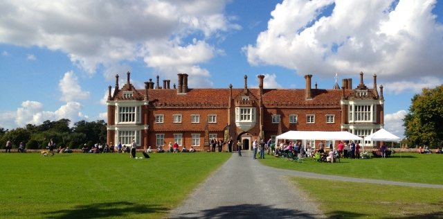 Walk with a fork for The Ormiston Family Trust Helmingham Hall 30.08.14
