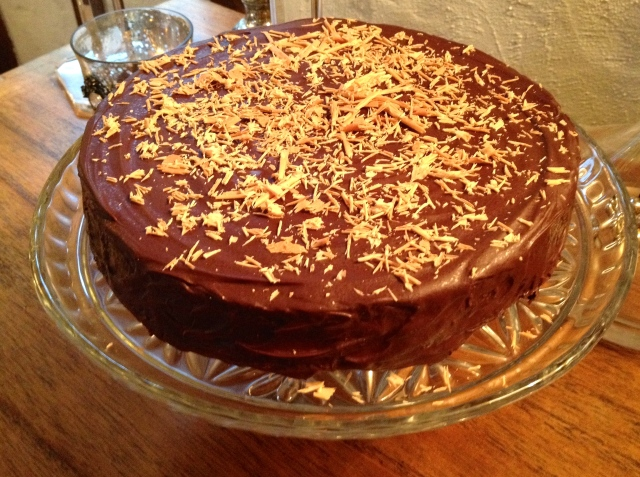 Chocolate and Mandarin Torte