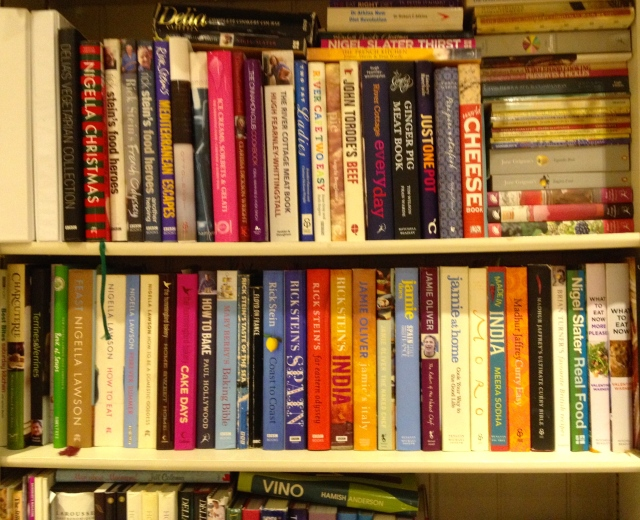 My cookery library