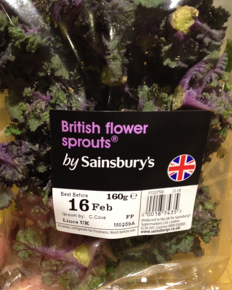 British Flower Sprouts