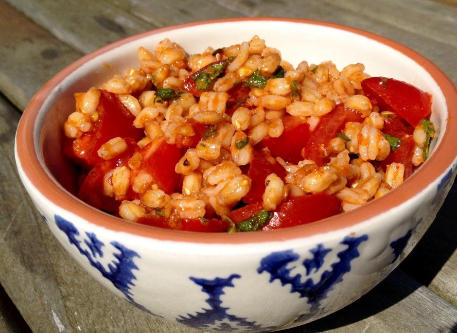Spelt Tomato salad