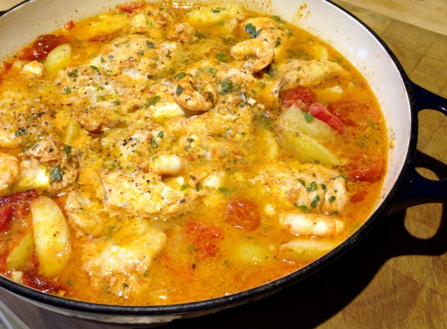 Moorish Fish Stew