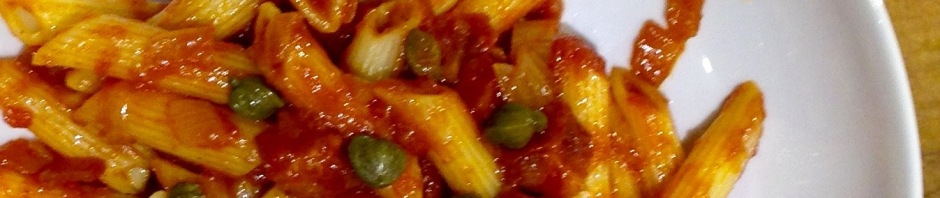 Pasta with Bloody Mary sauce