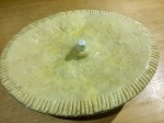 Steak pie lid