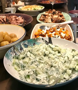 Barn Drift birthday buffet