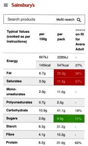 JS nutrition