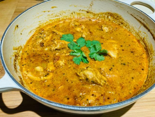 Chennai chicken curry