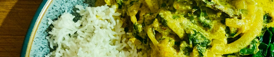 Citrus chicken curry