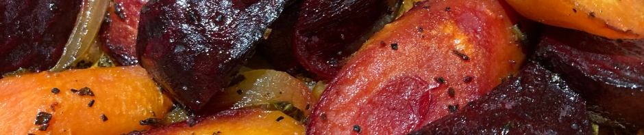 Roast beets and carrots